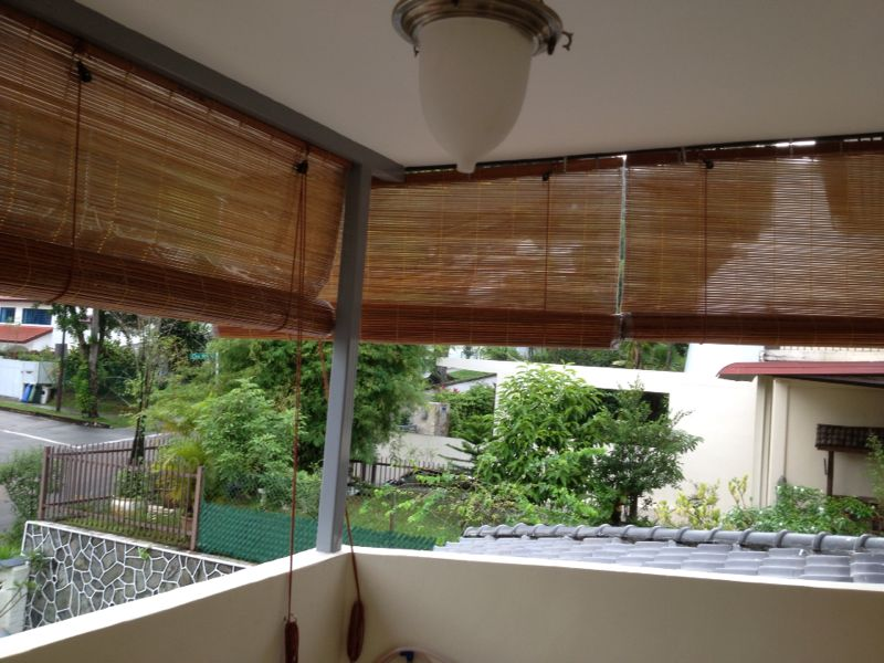 Outdoor blinds singapore blinds for Balcony shades