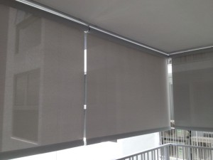 Outdoor Blinds in high rise