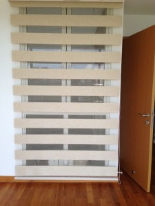 Ranbow Blinds display in a house