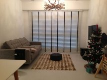 Timber Blinds made by singapore blinds