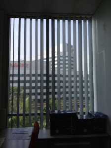 Vertical Blinds in offices