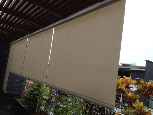 outdoor roller blinds singapore